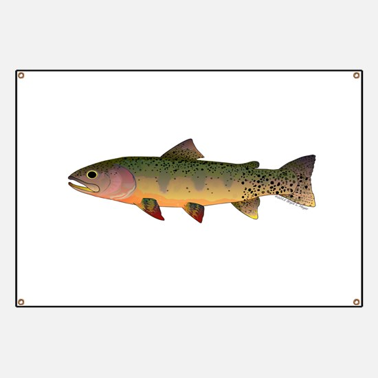 Cutthroat Trout stream Banner