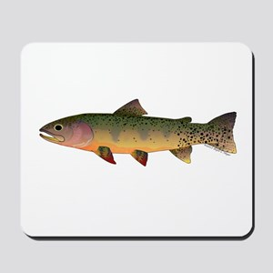 Cutthroat Trout stream Mousepad