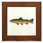 Cutthroat Trout stream Framed Tile
