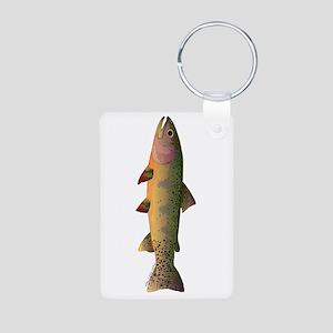 Cutthroat Trout stream Keychains