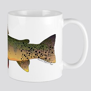 Cutthroat Trout stream Mugs