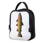 Cutthroat Trout stream Neoprene Lunch Bag