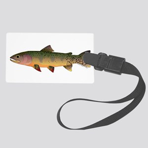 Cutthroat Trout Stream Large Luggage Tag