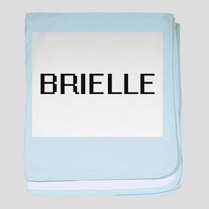 Brielle Digital Name baby blanket