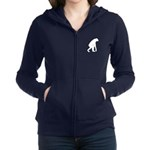 First Man Women's Zip Hoodie