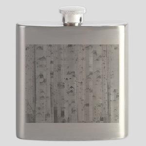 pixated aspen forest Flask