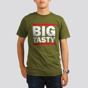 Big Tasty Organic Men's Dark T-Shirt