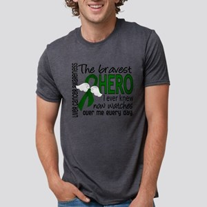 Bravest Hero I Knew Liver Cancer T-Shirt