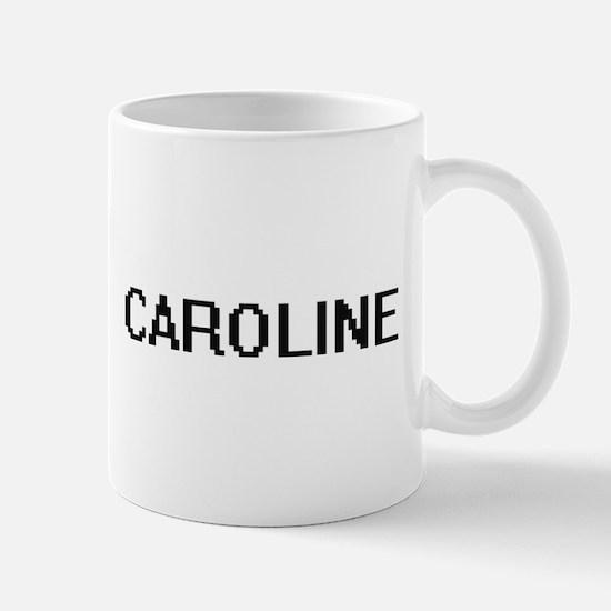 Caroline Digital Name Mugs