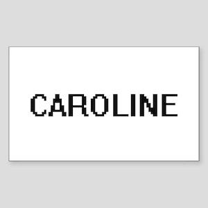 Caroline Digital Name Sticker