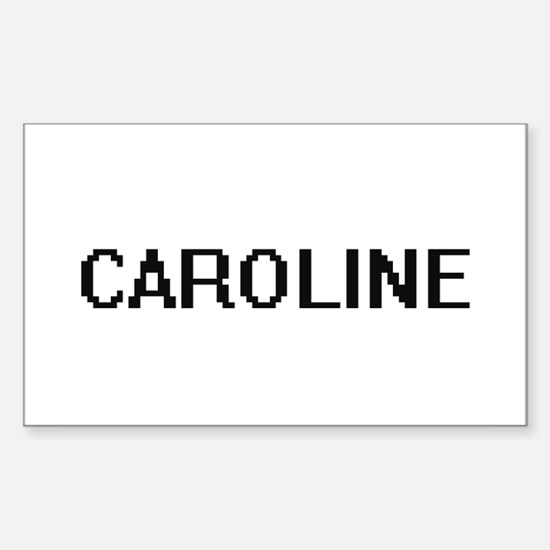 Caroline Digital Name Decal
