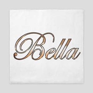 Gold Bella Queen Duvet