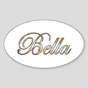 Gold Bella Sticker