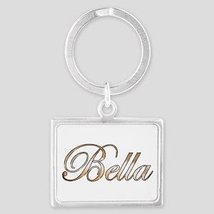 Gold Bella Keychains