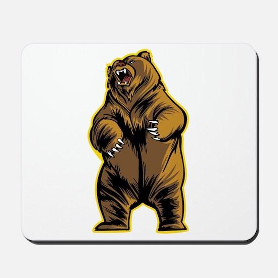 Angry Bear Mousepad