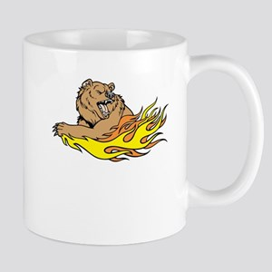 Fire Bear Mugs
