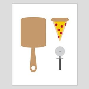 Pizza Utensils Posters
