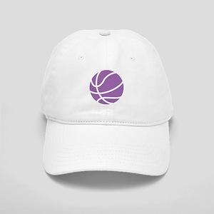 Basketball Purple Cap