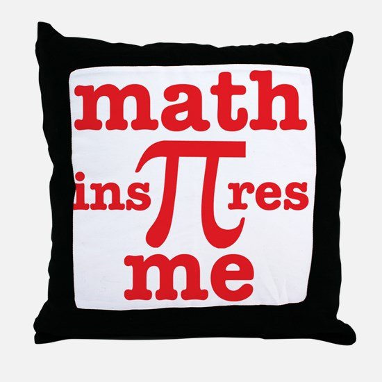 Funny Math funny Throw Pillow