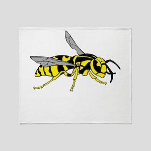 Wasp Throw Blanket