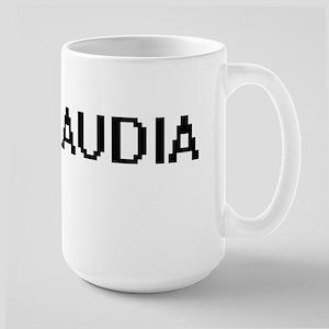 Claudia Digital Name Mugs