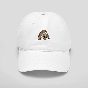 Bulldog With Chain Baseball Cap