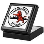 USS HEERMANN Keepsake Box