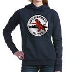 USS HEERMANN Women's Hooded Sweatshirt