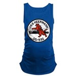 USS HEERMANN Maternity Tank Top