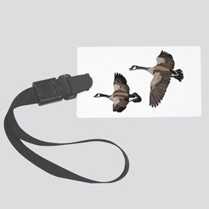 Flying Goose-No Text Large Luggage Tag