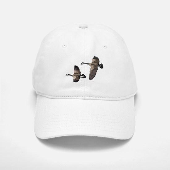 Flying Goose-No Text Baseball Baseball Cap