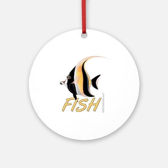The Fish Ornament (Round)