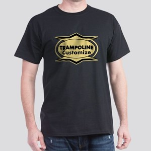 Trampoline Star stylized Dark T-Shirt