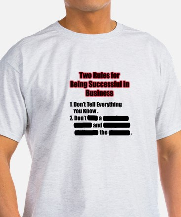 Rules for Successful Business T-Shirt