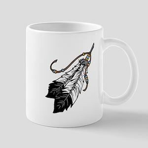 Native American Feathers Mugs