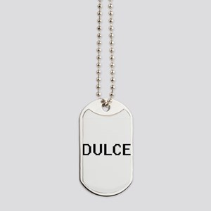 Dulce Digital Name Dog Tags