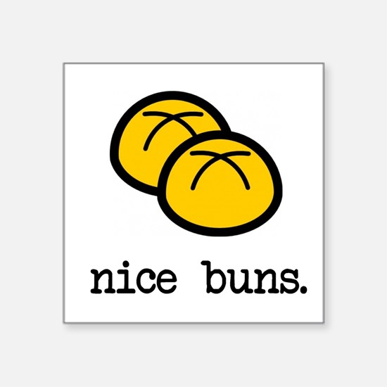 Nice Buns Sticker