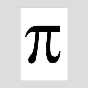 Pi Symbol Mini Poster Print