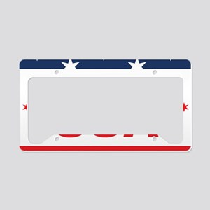 Made In USA License Plate Holder