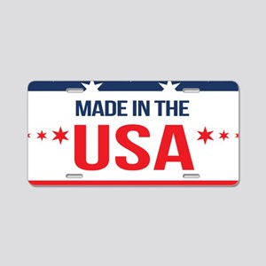 Made In USA Aluminum License Plate