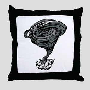 Tornado Throw Pillow
