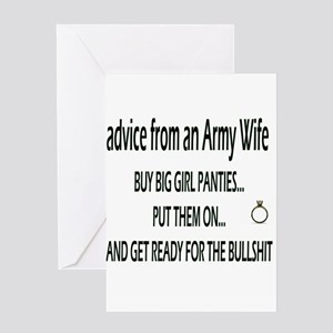 ADVICE Greeting Card