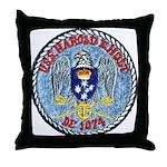 USS HAROLD E. HOLT Throw Pillow