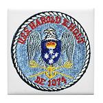 USS HAROLD E. HOLT Tile Coaster