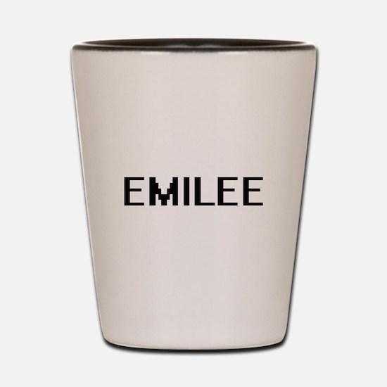 Emilee Digital Name Shot Glass