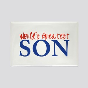 World's Greatest Son II Rectangle Magnet