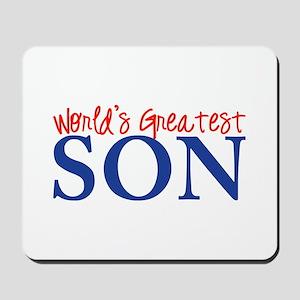 World's Greatest Son II Mousepad