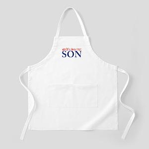 World's Greatest Son II BBQ Apron