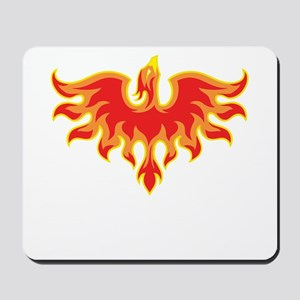 Fire Falcon Mousepad