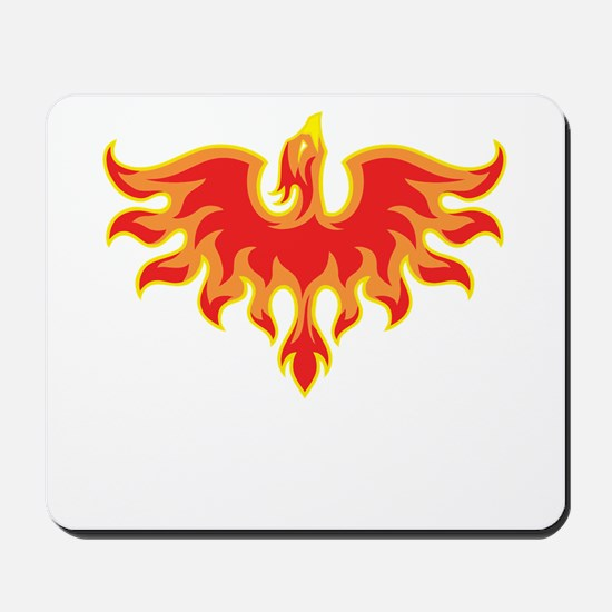Fire Falcon Mousepad